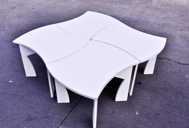 2x2 bow tables
