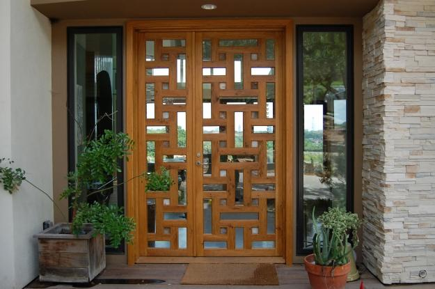 Griffin Doors & Griffin Doors | Macek Furniture | The Guild of Austin Artisans