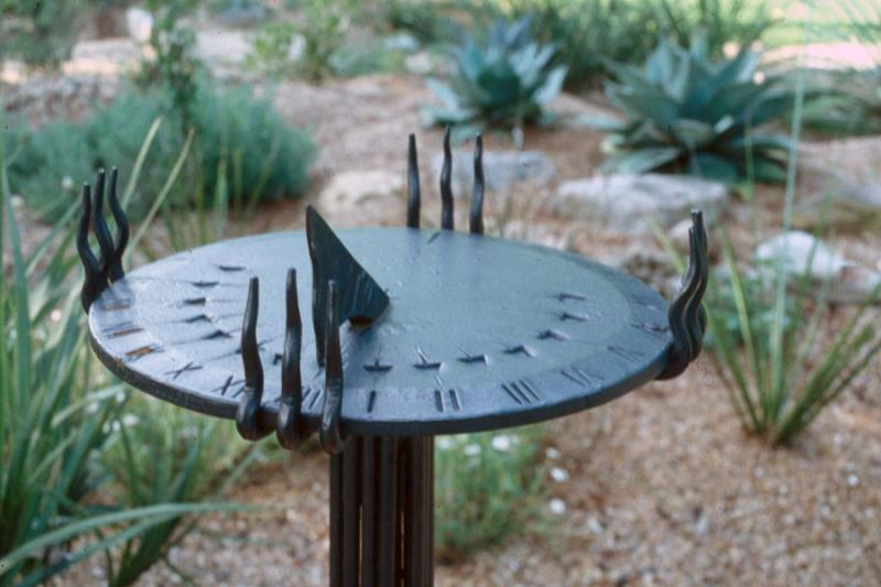 Sundial Lars Stanley Metalworks The Guild Of Austin