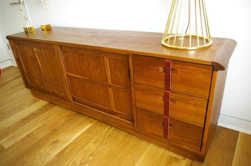 Kyoto bed and sideboard michael yates design the guild for Bad sideboard
