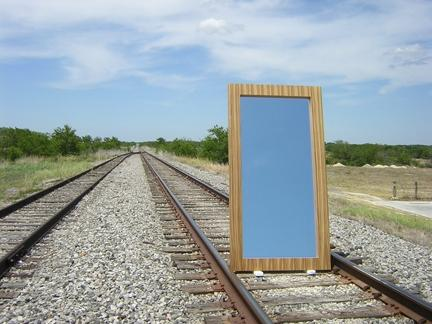 Zebrawood Mirror