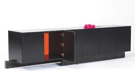 Big Black Credenza