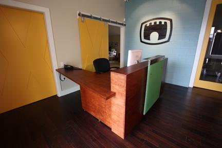 Castleview Reception Desk